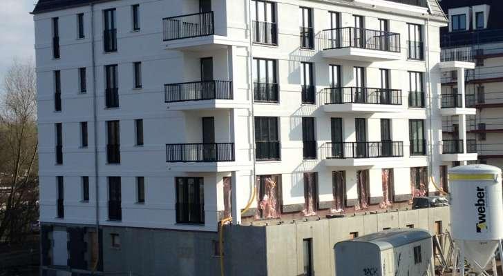 Wohnen am wei en kreuz in rostock b tzower hochbau for Fenster gemeinschaftseigentum
